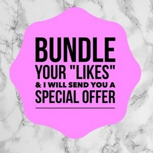 **BUNDLE YOUR LIKES & GET EXCLUSIVE OFFERS**